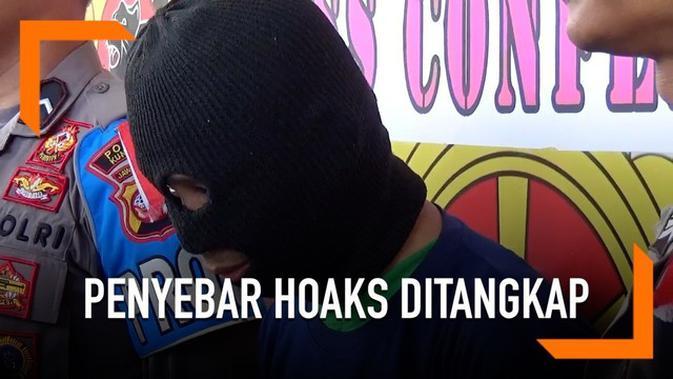 VIDEO Penyebar Hoaks Polisi Menyamar Ditangkap di Cilacap