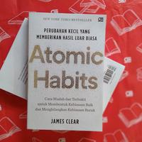 Buku Atomic Habits./Copyright Endah