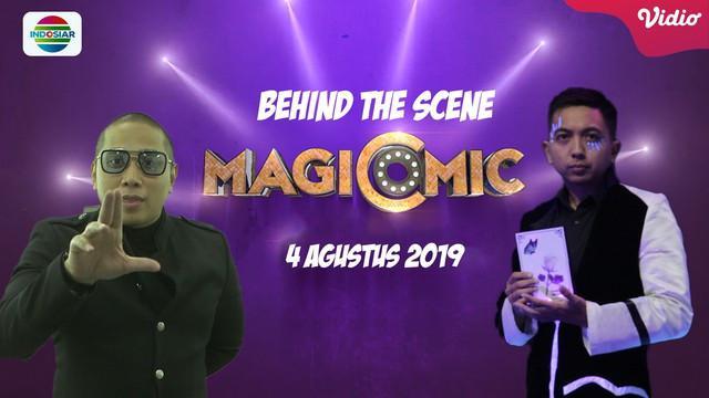 Inilah Momen di Balik Layar Magicomic Show Bersama Para
