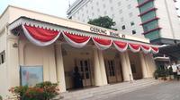 Gedung Joang 45 di Jakarta Pusat. (Liputan6.com/Ady Anugrahadi)