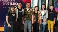 Konferensi pers IdeaFest 2019. Liputan6.com/Keenan Pasha