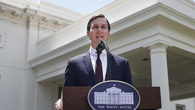 Jared Kushner, menantu Donald Trump yang juga menjabat sebagai penasihat senior presiden AS (AP Photo/Pablo Martinez Monsivais)