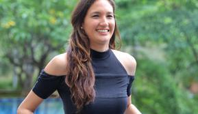 Dimas Anggara dan Nadine Chandrawinata