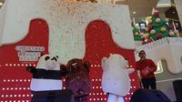 Rayakan serunya Natal bersama We Bare Bears di Mall Taman Anggrek (Foto: Vinsensia Dianawanti)