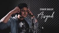 """Syakir Daulay Ikut Membuat Cover Lagu """"Aisyah Istri Rasulullah"""". sumberfoto: musikproaktif"""