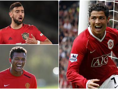 Cristiano Ronaldo dan 5 Pemain Asal Portugal di Manchester United
