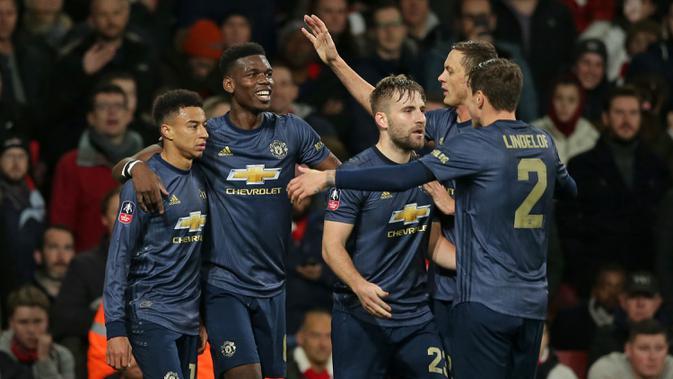 Hasil Undian Putaran Kelima Piala FA: Chelsea Hadapi Manchester United - Inggris Bola.com