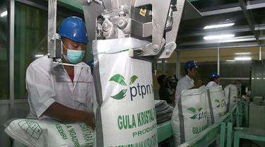 Pabrik gula milik PTPN. Dok Kementerian BUMN