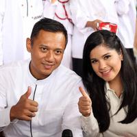 Ultah Annisa Pohan bersama Anak Yatim (Nurwahyunan/bintang.com)