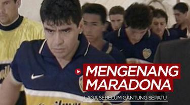 Berita video momen Diego Maradona saat berlaga bersama Boca Juniors sebelum dirinya memutuskan untuk gantung sepatu.