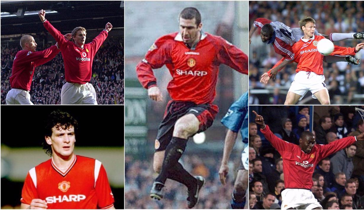 FOTO 5 Striker Top Manchester United Pada Era 90 An