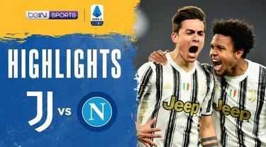 Berita video highlights laga tunda pekan ketiga Liga Italia 2020/2021 antara Juventus melawan Napoli yang berakhir dengan skor 2-1, di mana Cristiano Ronaldo dan Paulo Dybala mencetak gol kemenangan, Kamis (8/4/2021) dinihari WIB.