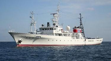 Kapal pengawas perikanan Shirahagi-maru dari Jepang buat Indonesia. Dok Kedubes Jepang