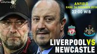 Prediksi Liverpool Vs Newcastle United (Liputan6.com/Trie yas)