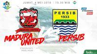 Liga 1 2018 Madura United Vs Persib Bandung (Bola.com/Adreanus Titus)
