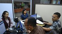 Pelayanan di Kantor Imigrasi Kelas I Non TPI Tangerang, Banten. (Liputan6.com/Pramita Tristiawati)