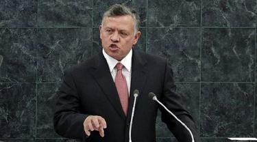 Raja Abdullah II dari Yordania (Richard Drew / AP PHOTO via The Times of Israel)