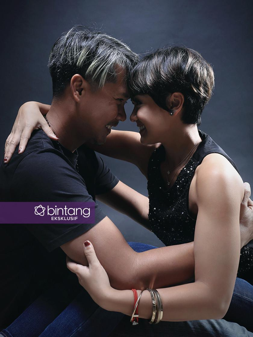 Nirina Zubir dan Ernest Fardiyan Syarif (Deki Prayoga/Bintang.com)