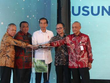 Jokowi Resmikan Proyek Rusunami untuk Buruh dan MBR