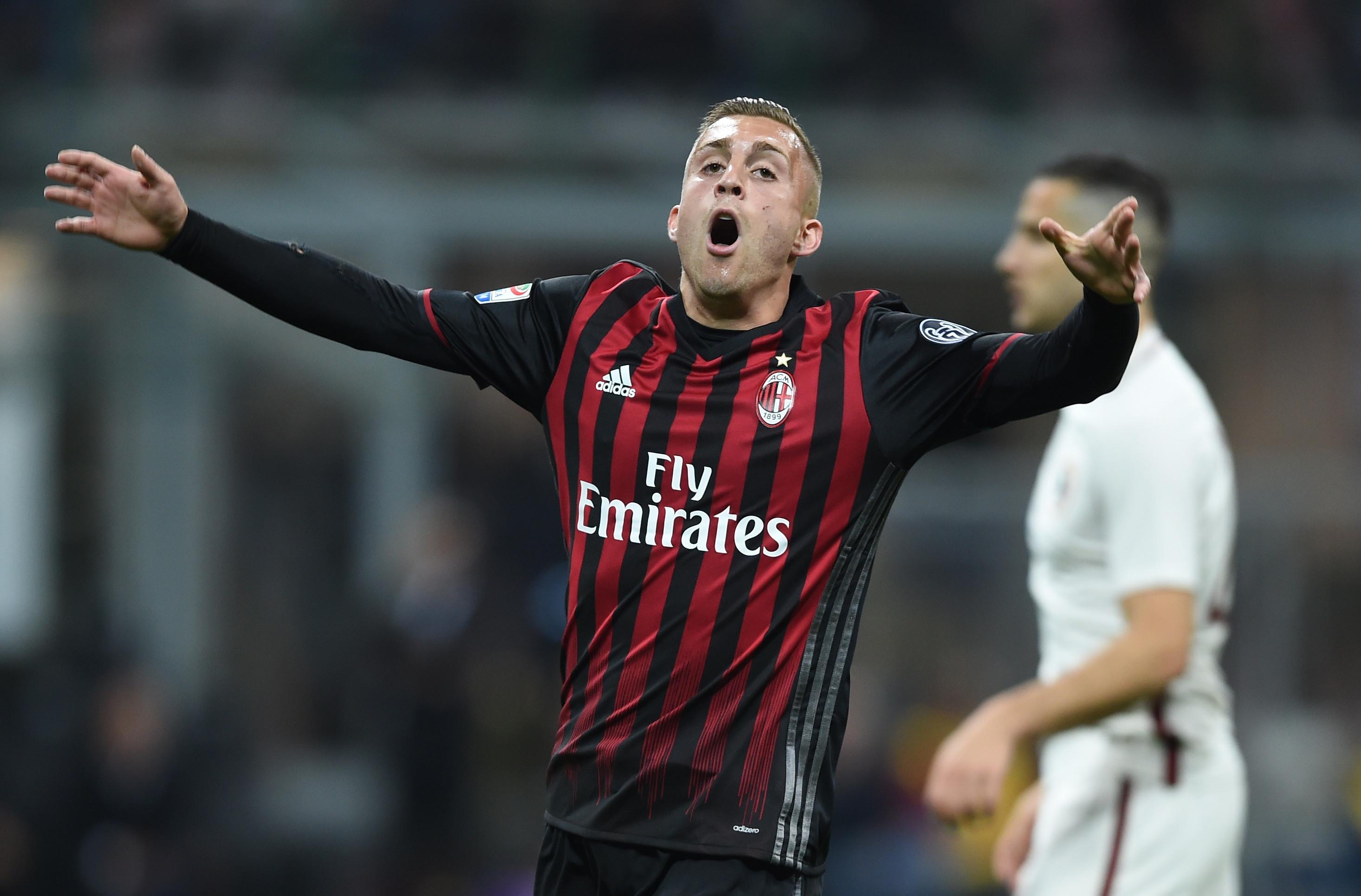 Gerard Deulofeu menjadi salah satu pemain andalan AC Milan di paruh kedua musim 2016/2017. (FILIPPO MONTEFORTE / AFP)