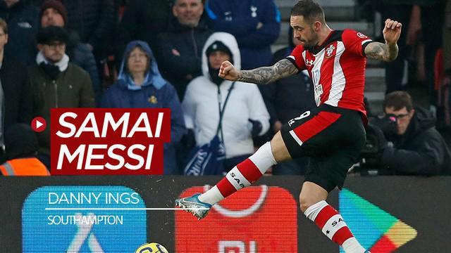Berita video striker Southampton, Danny Ings, sementara ini pada musim 2019-2020 torehan golnya sudah menyamai mega bintang Barcelona, Lionel Messi.