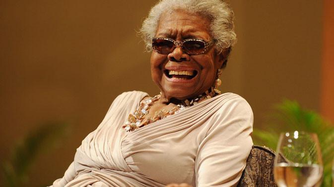 Dr. Maya Angelou. (Doc: Daily Beast)