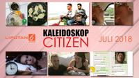Banner Kaleidoskop Citizen6 Juli 2018. (Liputan6.com/Triyasni)