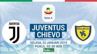 Serie A: Juventus Vs Chievo Verona (Bola.com/Adreanus Titus)