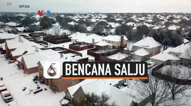 bencana salju