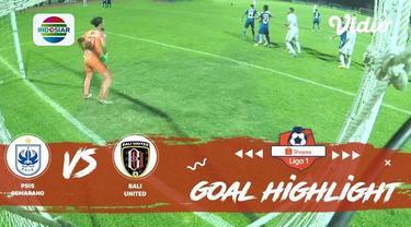 Berita video momen gol kemenangan PSIS Semarang atas Bali United dalam laga tunda pekan ke-22 Shopee Liga 1 2019, Jumat (15/11/2019).
