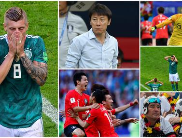 Korea Selatan, Jerman, Piala Dunia 2018, Shin Tae-yong