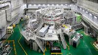 Reaktor fusi nuklir yang dikembangkan Korea Selatan (Foto: National Research Council of Science & Technology)