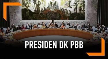 "Indonesia akan memegang peranan sebagai Presiden Dewan Keamanan PBB sepanjang Mei 2019 dan akan mengangkat tema besar ""UN Peacekeeping."""