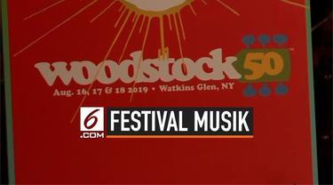Festival musik Woodstock 50 batal digelar setelah menghadapi berbagai macam permasalahan.  Sebelum pernyataan resmi dikeluarkan, sejumlah artis penampil menarik diri dari acara tersebut.