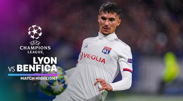 Berita Video Highlights Liga Champions, Lyon Vs Benfica 3-1