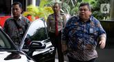Kepala Badan Pengawasan Keuangan dan Pembangunan (BPKP)  Muhammad Yusuf Ateh tiba untuk melakukan pertemuan di Gedung KPK, Jakarta, Kamis (20/02/2020). Pertemuan membahas kerjasama antar lembaga KPK dan BPKP. (merdeka.com/Dwi Narwoko)
