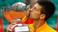 Novak Djokovic Juara Monte Carlo Masters (AFP)