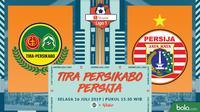 Shopee Liga 1 - Tira Persikabo Vs Persija Jakarta (Bola.com/Adreanus Titus)