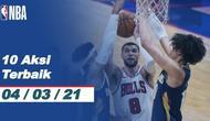 Berita video 10 Aksi Terbaik NBA pada 4 Maret 2021 ini ada aksi fantastis dari pemain Brooklyn Nets, DeAndre Jordan.