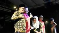 Plt Gubernur DKI Jakarta Djarot Saiful Hidayat kembali mengingatkan untuk tunduk pada konstitusi dan menghormati hukum yang berlaku. (Liputan 6 SCTV)