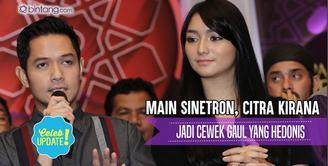 Peran Citra Kirana di dalam sinetron Tuhan Beri Kami Cinta yang akan ditayangkan di SCTV.