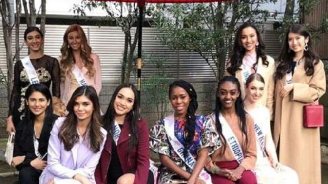 Kegiatan Vania Fitriyanti Herlambang sebelum final Miss International 2018. (dok. Instagram @vaniafherlambang/https://www.instagram.com/p/Bp1EC4rHvMy//Henry)#source%3Dgooglier%2Ecom#https%3A%2F%2Fgooglier%2Ecom%2Fpage%2F%2F10000