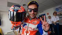 Danilo Petrucci akan menjadi tandem baru buat Andrea Dovizioso di Ducati pada MotoGP 2019. (MotoGP)