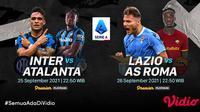 Link  Live Streaming Big Match Liga Italia Serie A 2021 Pekan Keenam di Vidio Pekan Ini. (Sumber : dok. vidio.com)