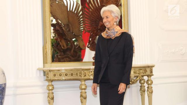 Direktur Pelaksana IMF Christine Lagarde