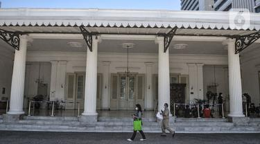 Suasana Balai Kota Usai Gubernur Anies Baswedan Positif COVID-19