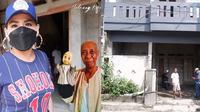 Kondisi rumah Pak Ogah (Sumber: YouTube/Melaney Ricardo)