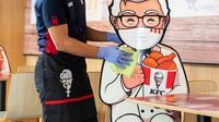 Gerai KFC Indonesia.