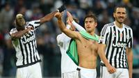 8. Juventus (Italia) - 105.854 point (AFP/Marco Bertorello)