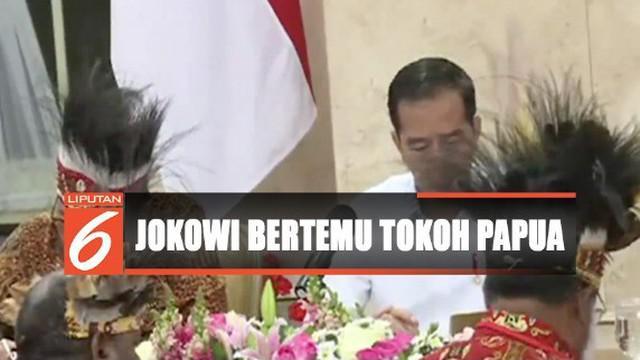 Setidaknya ada 10 permintaan yang diajukan para tokoh Papua kepada Presiden Jokowi.